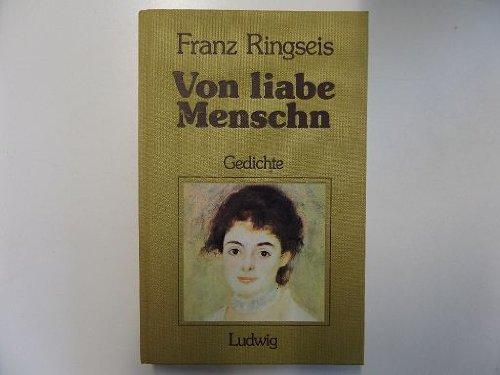 9783778732274: Von liabe Menschn. Gedichte