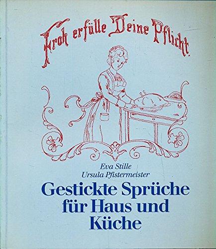 9783778734674: Trautes Heim - Glück allein. Gestickte Sprüche für ...