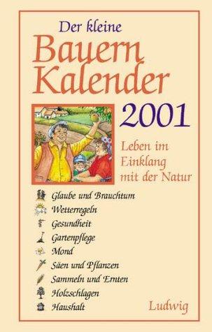 9783778738450: Der kleine Bauern- Kalender 2001. Taschen- Kalender