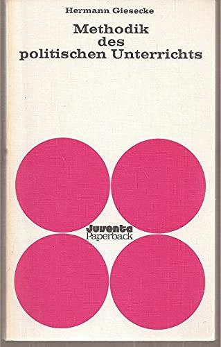9783779905172: Methodik des politischen Unterrichts