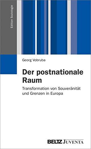 9783779927228: Der postnationale Raum