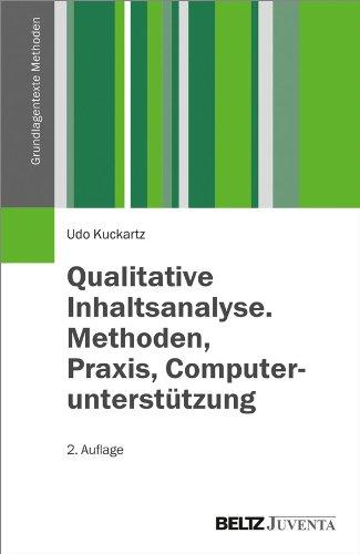 9783779929222: Qualitative Inhaltsanalyse. Methoden, Praxis, Computerunterstützung