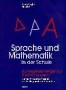 9783780020147: Sprache und Mathematik in der Schule: Auf eigenen Wegen zur Fachkompetenz