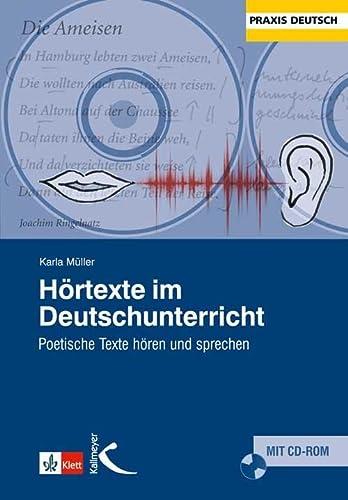 9783780049032: H�rtexte im Deutschunterricht: Poetische Texte h�ren und sprechen
