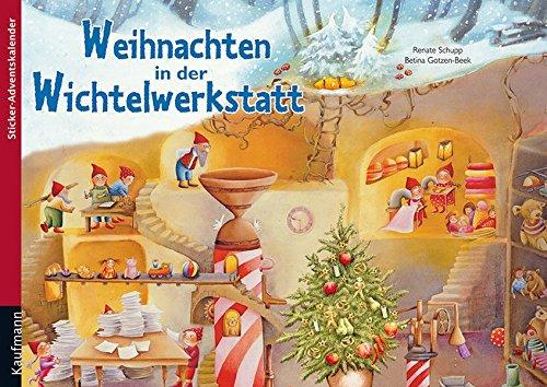 9783780606914: Weihnachten in der Wichtelwerkstatt: Sticker-Adventskalender