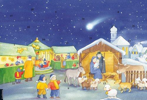 9783780607713: Rica auf dem Weihnachtsmarkt: Ein Text-Türchenkalender