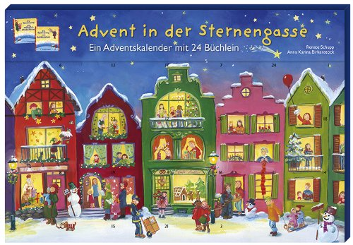 9783780607911: Advent in der Sternengasse: Ein Adventskalender mit 24 B�chlein