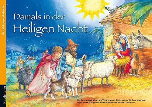 9783780608598: Damals in der Heiligen Nacht: Bastel-Adventskalender