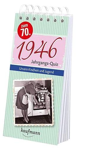 Jahrgangs-Quiz 1946 : Unsere Kindheit und Jugend: Tom Jacob