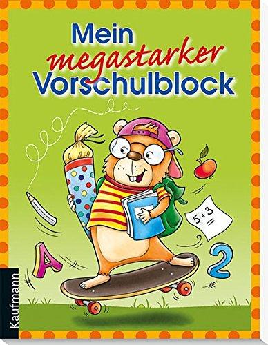9783780629470: Mein megastarker Vorschulblock