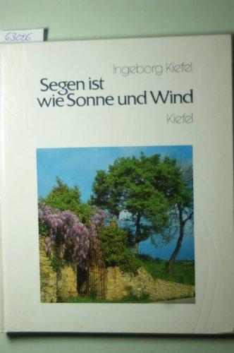 9783781156098: Segen ist wie Sonne und Wind