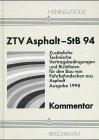 9783781214149: Zus�tzliche Technische Vertragsbedingungen und Richtlinien f�r den Bau von Fahrbahndecken aus Asphalt