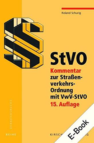 StVO Kommentar E-Bundle: Roland Schurig