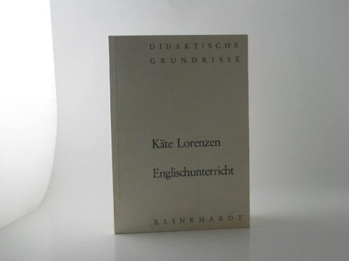 Englischunterricht: Käte Lorenzen