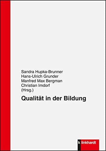 9783781520455: Qualit�t in der Bildung