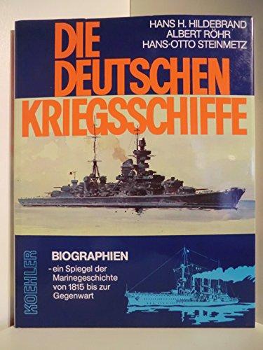 9783782202367: Hildebrand, Hans H. Bd. 5. Die deutschen Kriegsschiffe. - Herford : Koehle
