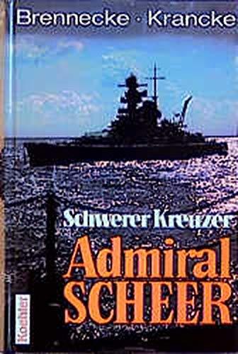 9783782208314: Schwerer Kreuzer Admiral Scheer.
