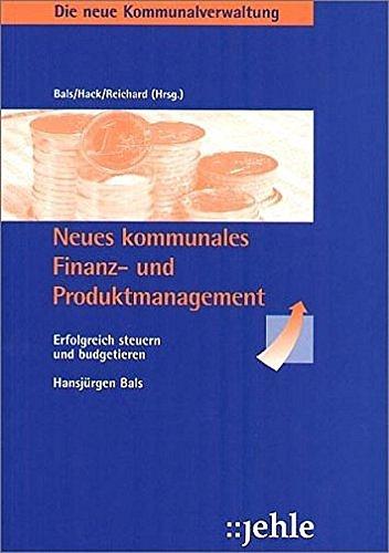 9783782504201: Neues kommunales Finanz- und Produktmanagement
