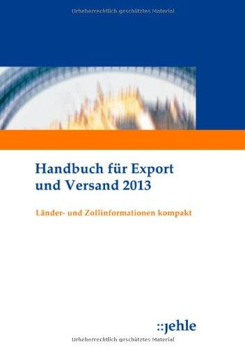 9783782505406: Handbuch für Export und Versand 2013
