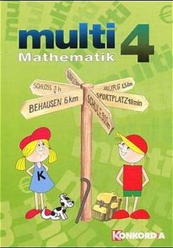 9783782616461 - Hagmaier, Günter, Schneider, Siegfried: multi-Mathematik (Euro SAT): multi Mathematik, Ausgabe Sachsen, Sachsen-Anhalt, Thüringen, EURO, 4. Schuljahr: BD 4 - Buch