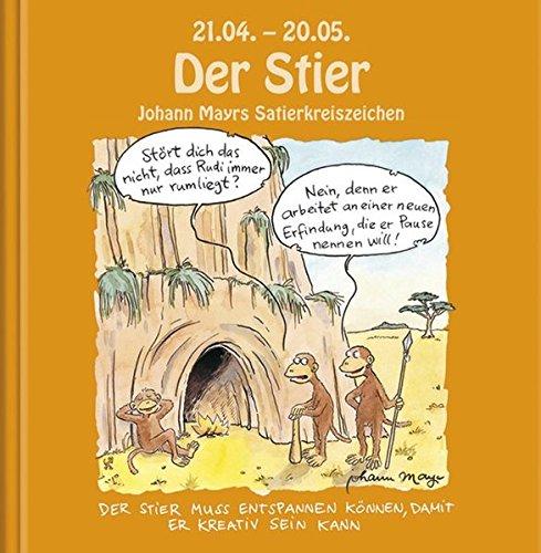 9783782752084: Johann Mayrs Satierkreiszeichen Stier