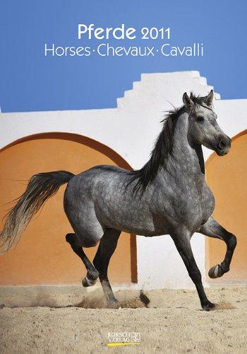 9783782753555: Großer farbiger Pferdekalender, Horses, Chevaux, Cavalli 2011