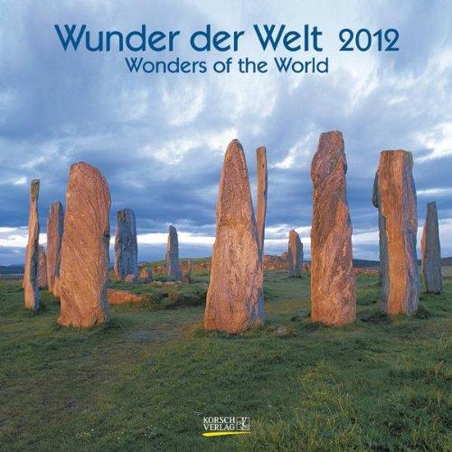9783782759076: Wunder der Welt / Wonders of the World 2012. Geburtstagskalender: Mit Geburtstagsplaner und Ferienterminen