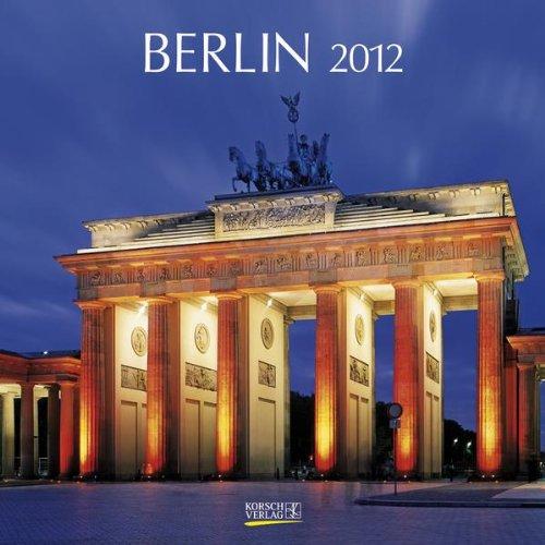 9783782762168: Berlin 2012. Brosch�renkalender