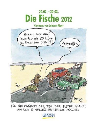 9783782762380: Die Fische im Jahr 2012: Cartoon-Kalender