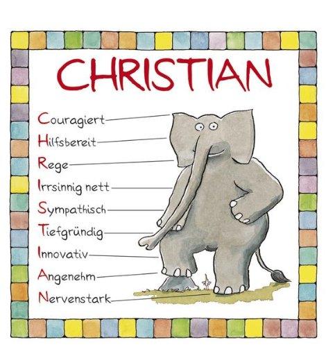 9783782767095: Christian. Namenskalender