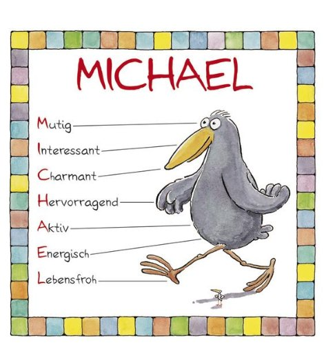 9783782767491: Michael. Namenskalender