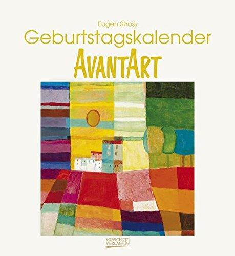 9783782768290: Geburtstagskalender AvantArt