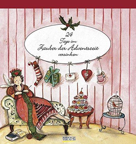 9783782768580: Zauber der Adventszeit. Advents-Aufstellkalender: Postkarten-Adventskalender für weihnachtliche und winterliche Grüße
