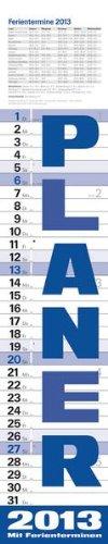 9783782770026: Planer blau 2013