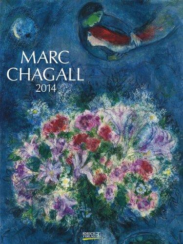 9783782781350: Marc Chagall 2014. Kunst Gallery Kalender