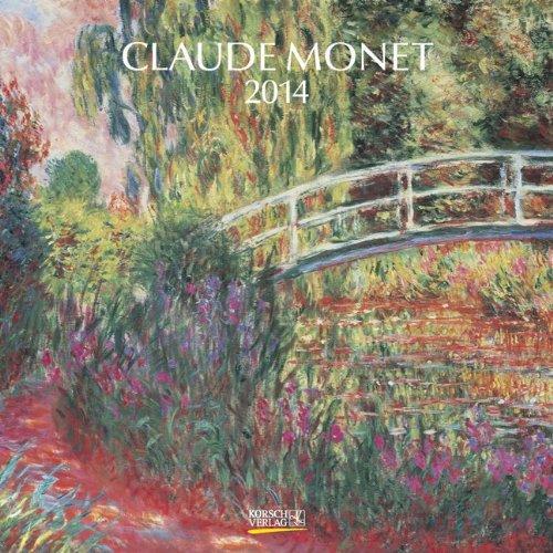 9783782782982: Claude Monet 2014 - Calendario tipo folleto