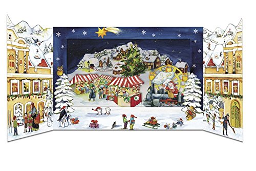 9783782791663: Weihnachtszauber in der Stadt: Pop-Up-Adventskalender zum Aufstellen