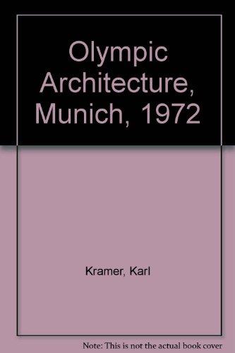 9783782802093: Olympic Architecture, Munich, 1972