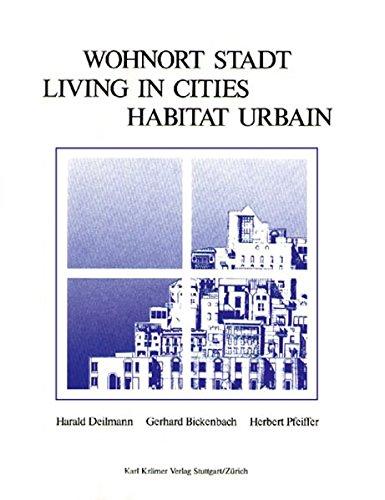 9783782806152 - Harald Deilmann: Wohnort Stadt =: Living in cities - Buch