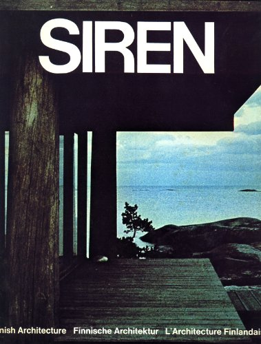 9783782814348: Kaija + Heikki Siren: Architects/Architekten/Architectes (English, German and French Edition)