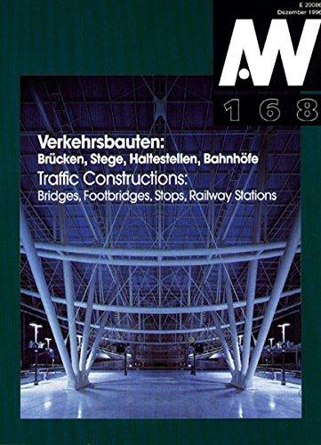 9783782831680: Architektur und Wettbewerbe, H.168 : Verkehrsbauten