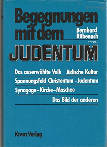 9783783106435: Begegnungen mit dem Judentum (German Edition)