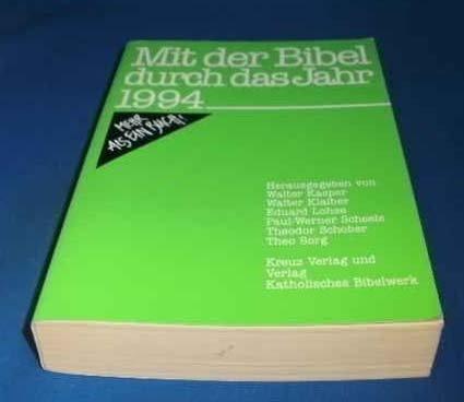 9783783111927: Mit der Bibel durch das Jahr