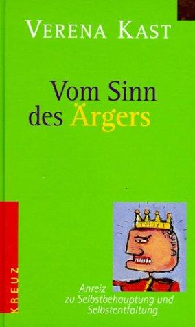 9783783121254: Vom Sinn des Ärgers