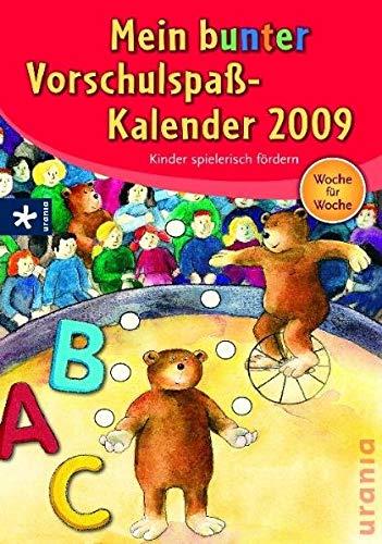 9783783161243: Mein bunter Vorschulspaßkalender 2009