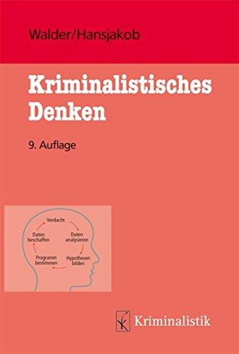 9783783200416: Kriminalistisches Denken