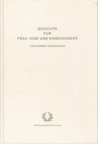 Gedichte Für Frau Kind Und Kindeskinder
