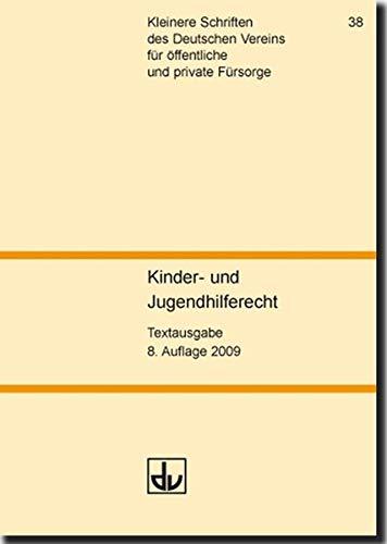 9783784119342: Sozialgesetzbuch (SGB VIII): Kinder- und Jugendhilfe. Textausgabe