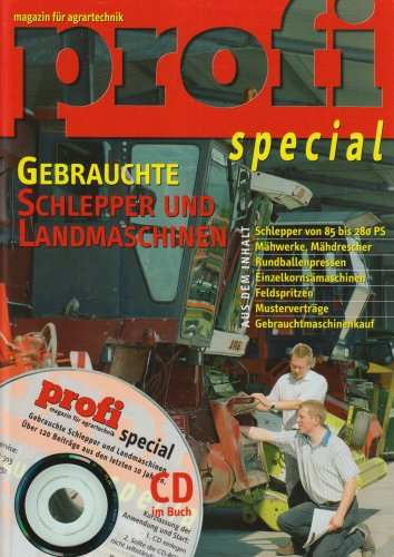 9783784333281: Gebrauchte Schlepper und Landmaschinen. Mit CD-ROM