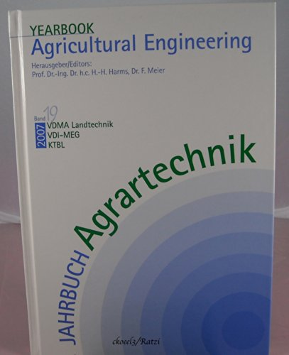 9783784334387: Jahrbuch Agrartechnik /Yearbook Agricultural Engineering: Jahrbuch Agrartechnik 2007 / Yearbook Agricultural Engineering